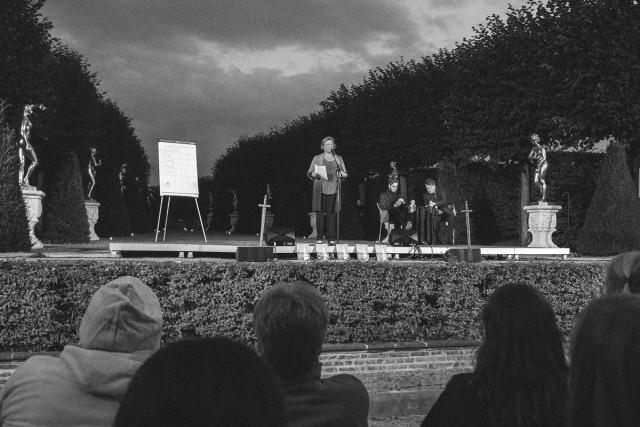 Die Gewinnerin des Poetry Slam: Rita Apel.