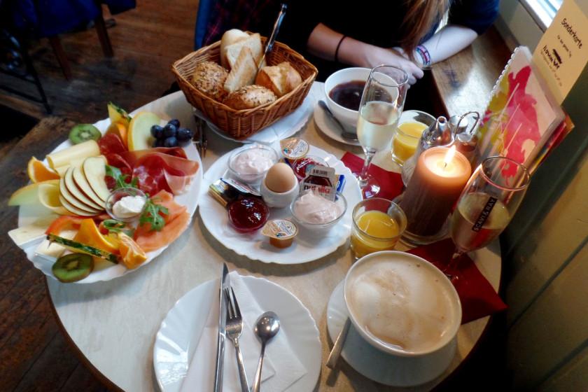 Café Safran Frühstück