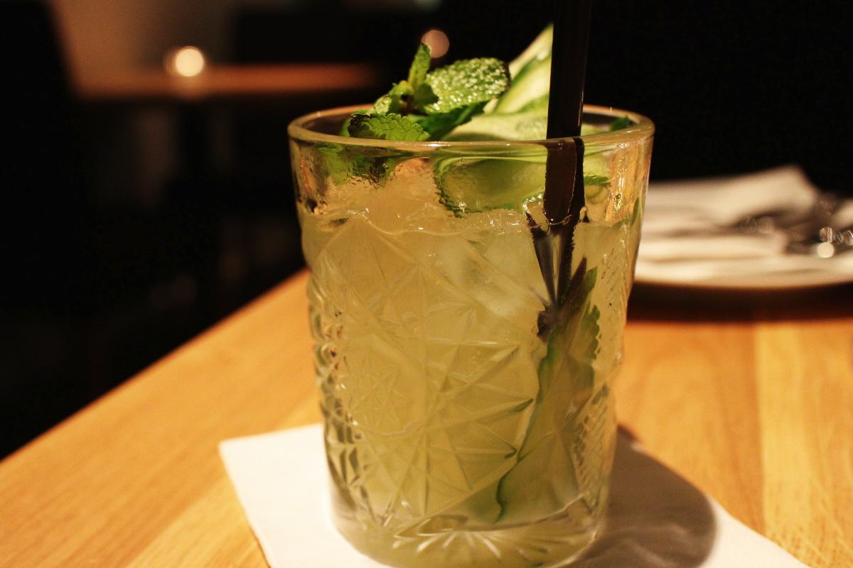 cocktail alkoholfrei Lindenblatt