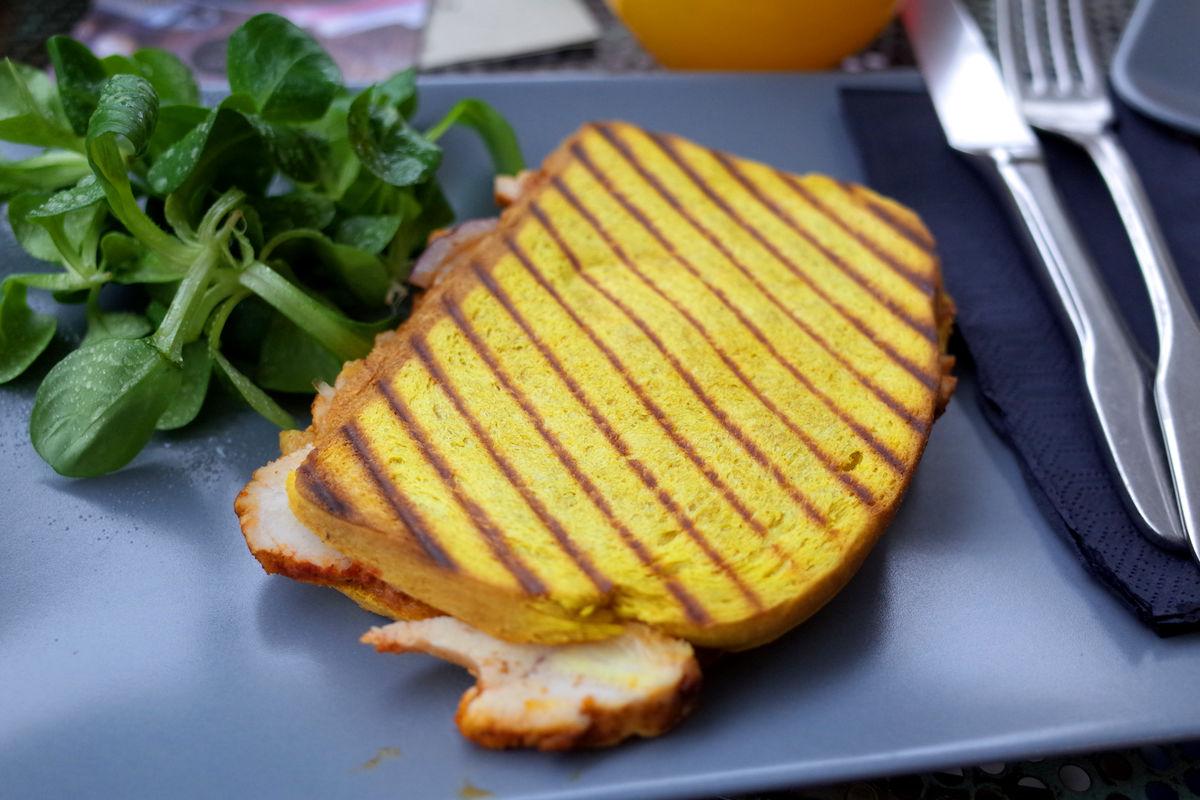Gegrillt schmecken Sandwiches immer besser!