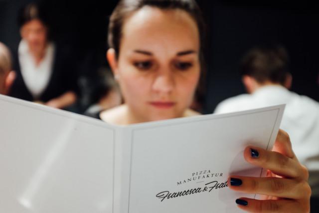 Speisekarte Francesca & Fratelli